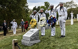 USS Thresher memorial dedication at Arlington National Cemetery, September 26, 2019 USS Thresher memorial dedication at Arlington.jpg