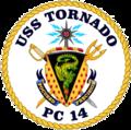 USS Tornado PC-14 COA.png