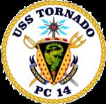 USS Tornado PC-14 COA