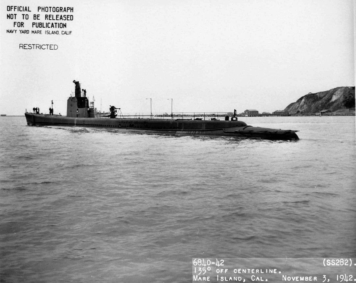 USN Navy Photo Print USS PINTADO SS 387 Fleet Naval Submarine