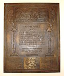 USS Utah Pearl Harbor Attack Memorial Plaque - Utah State Capitol - 6 Dec 2012.JPG