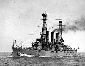 USS Virginia (BB-13) - Virginia, circa 1910–1913.