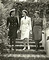 US Naval Hospital San Diego Nurses Modeling Uniforms ca1944 02.jpg