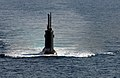 US Navy 050624-N-1464F-013 The Turkish submarine Preveze surfaces following the North Atlantic Treaty Organization (NATO) submarine escape and rescue exercise Sorbet Royal 2005.jpg
