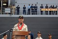 US Navy 070216-N-2746V-002 Commander U.S. 7th Fleet, Vice Adm. Doug Crowder, addresses the media and local citizens of General Santos City during a welcoming ceremony.jpg