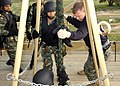 US Navy 070411-N-8493H-010 Sailors in the Tunisian navy conduct fast rope training drills as part of exercise Phoenix Express 2007.jpg