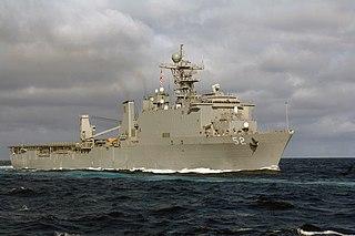 USS <i>Pearl Harbor</i> ship