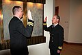 US Navy 071117-N-4880C-047 Lt. Cmdr. William B. Krissoff, a Board Certified Orthopedic Surgeon specializing in trauma and sports medicine, is officially commissioned as a lieutenant commander in the U.S. Navy Medical Corps.jpg