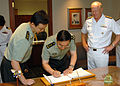 US Navy 080708-N-5476H-011 China's Lt. Gen. Zhang Qingsheng signs the U.S. Pacific Fleet guest book.jpg