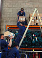 US Navy 081011-N-5148B-044 Sailors participate in a community relations project at St. John's Volunteer Ambulance Station in Sydney.jpg