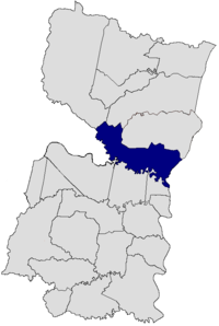 Hernandarias in the Alto Paraná Department