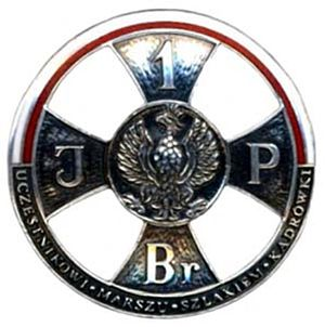 Jadwiga Piłsudska - Cadre Company March Participant's Badge