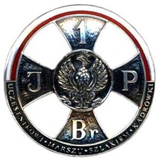 Jadwiga Piłsudska - Cadre Company March Participant's Badge