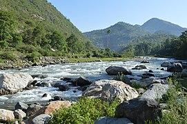 Uhl Below IIT Mandi Himachal May15 DSC 7668.jpg