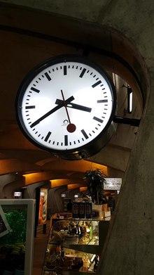 Swiss railway clock - Wikipedia