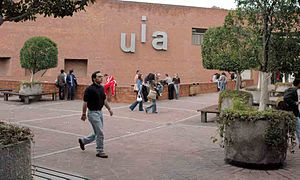It's a picture from Universidad Iberoamericana...