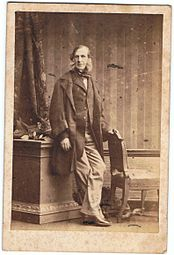 Camille Silvys Portrait Of William Fane De Salis London 1861
