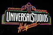 Universal Studios Fountain - Night