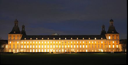 Founded in 1818, the University of Bonn counts Nietzsche, Marx and Adenauer among its alumni.