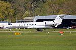 Untitled Gulfstream Aerospace G-V-SP Gulfstream G550 VP-BSI (26425412234).jpg