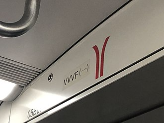 Variable-frequency drive - VVVF used on train of Guangzhou metro