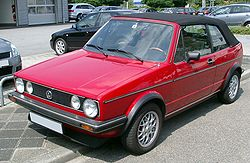 vw golf cabriolet wikipedia. Black Bedroom Furniture Sets. Home Design Ideas