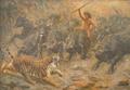 Valdemar Irminger - Motiv fra Junglebogen - 1908.png