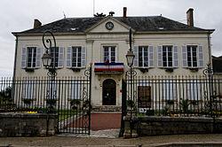 L'hôtel de ville de Valençay.