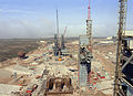 Vandenberg AFB SLC-6 under construction in August 1982 - DF-SC-83-08342.jpg