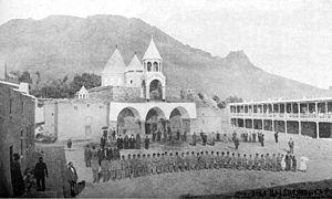 Varagavank - View of the monastery