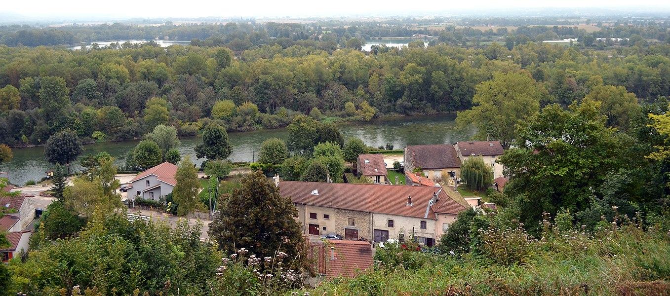 Varambon, Ain, France.