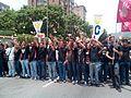 Marcha del Silencio en Venezuela el 22 de abril de 2017.
