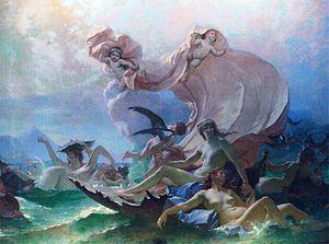 Alexis-Joseph Mazerolle - Venus marine (1882).