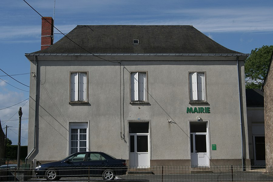 Mairie de Vergonnes.