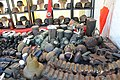 Victory Show Cosby UK 06-09-2015 WW2 re-enactment display Trade stalls Misc. militaria personal gear replicas reprod. originals collect. zaphad1 Flickr CC BY 2.0 German equipm pouches cantinas flasks binochulars helmets etc IMG 3819.jpg