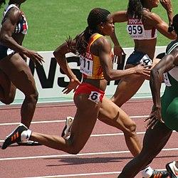 100 metrin juoksu