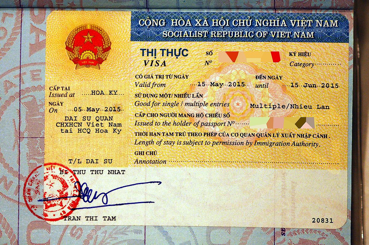 Visa Policy Of Vietnam Wikipedia