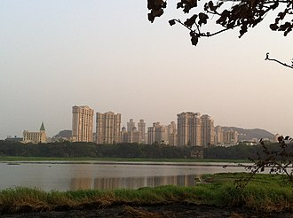 Indian Institute of Technology Bombay - View from Boat House, Powai lake, IIT Bombay