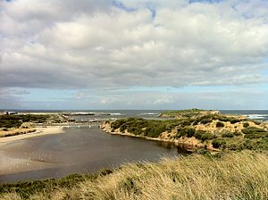 Warrnambool - Warrnambool foreshore from Pickering Point