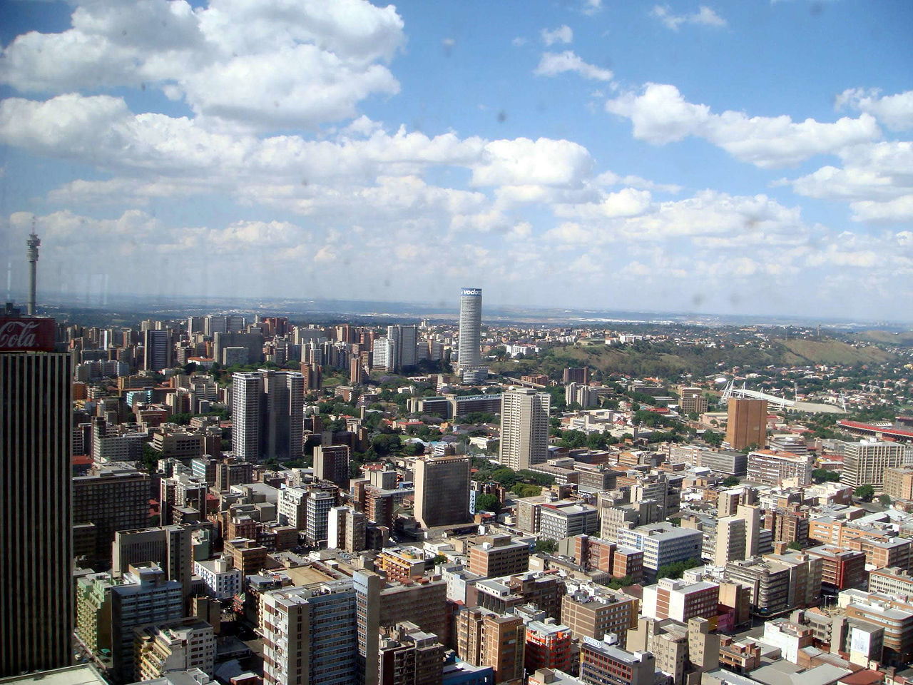 File:View From The Top Of Africa Building