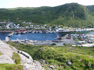 Petty Harbour–Maddox Cove Town in Newfoundland and Labrador, Canada