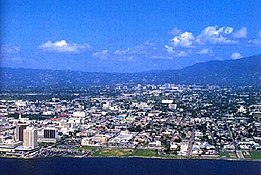 Photo of the city of Kingston