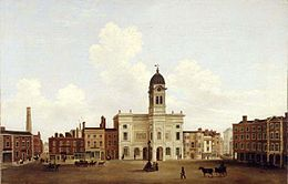 View of the Market Place Derby about 1850.jpg