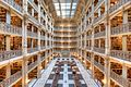 View of the stacks, Peabody Library, Mount Vernon Place Historic District.jpg