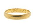 Vigselring av guld, 1801 - Hallwylska museet - 110159.tif