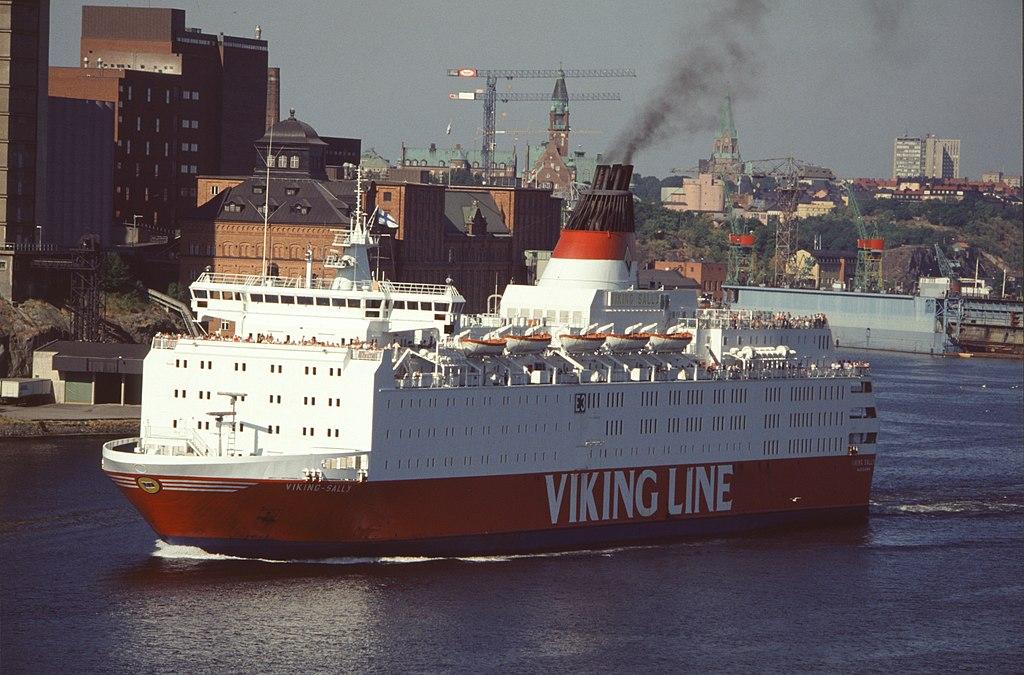 M/S Viking Sally, transbordador gemelo del Estonia.