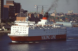 MS Estonia - As MS Viking Sally