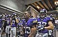 Vikings players before game vs Browns.jpg