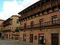 Villanueva de los Infantes.- Balconada Plaza Mayor.jpg