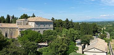 Abbaye saint andr de villeneuve l s avignon wikimonde Entretien jardin villeneuve les avignon